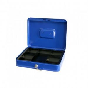 Strend Pro Caseta bani CashBox, 250x180x90 mm, albastra