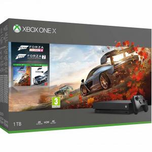 Microsoft Xbox One X 1TB plus Forza Horizon 4 plus Forza Motorsport 7