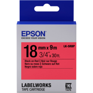 Epson LK-5RBP label-making tape