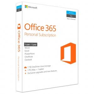 Microsoft Office 365 Personal, Engleza, 1 an
