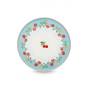 Pip Studio Suport pentru tort - Floral Cherry Blue