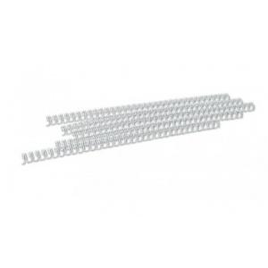 Opus Spire metalice 11,1mm, pas 3:1, 100 buc/cutie - alb
