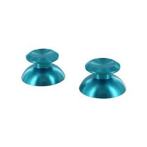 ZedLabz Alloy Metal Thumb Stick Replacements Blue 2 Pcs Ps4