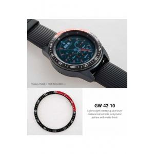 Ringke Rama ornamentala Galaxy Watch 42mm / Galaxy Gear Sport Negru/Rosu