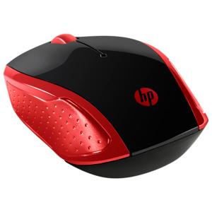 HP 200 negru-rosu