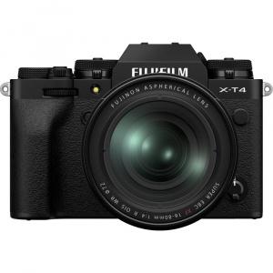 Fuji X-T4 cu XF 16-80mm f 4 R OIS WR (black)