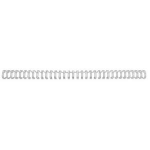 GBC Spira metalica 34 inele 9.5mm A4 argintiu 85 coli 100 bucati ERG810697