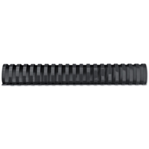 GBC Spira plastic 21 inele 38 mm A4 negru 330coli 50 buc/set E4028185