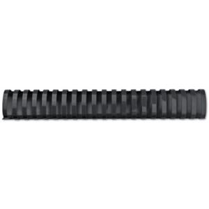 GBC Spira plastic 21 inele 45 mm A4 negru 390coli 50 buc/set E4028186
