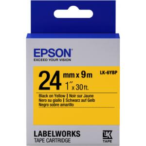 Epson LK-6YBP label-making tape