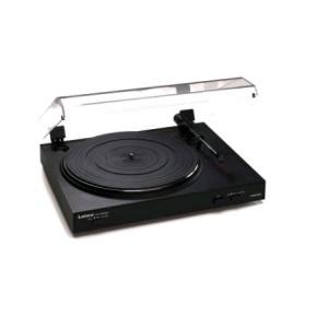 Lenco L-3867 Pick-up digital negru cu intrare USB