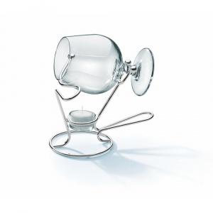 Chinelli Incalzitor de cognac Piegato placat cu argint