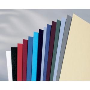 GBC Coperta carton pentru legare cu aspect de piele 250 g A4 albastru inchis 100 buc/set ECE040025