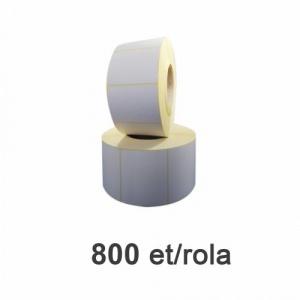 ZINTA Role etichete termice 80x60mm, 800 et./rola - 80X60X800-TH