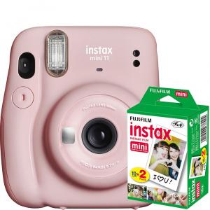 Fuji Instax mini 11, Blush Pink+ filme 2x10