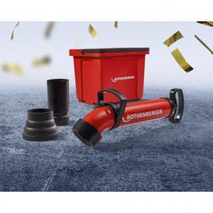 ROTHENBERGER Set pompa pentru desfundat ROPUMP+BUCKET