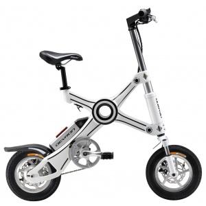 Bicicleta Electrica Pliabila X3 (alba)