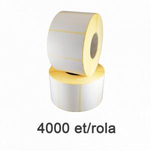 ZINTA Role etichete semilucioase 50x40mm, 4000 et./rola - 50X40X4000-SGP