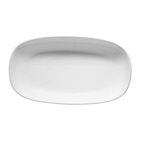 Ionia Platou oval Black&White alb 32 cm