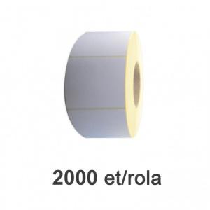 ZINTA Role etichete semilucioase 90x80mm, 2000 et./rola  - 90X80X2000-SGP