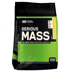 Optimum Nutrition Serious Mass 5.4 kg 12 Lbs Chocolate Peanut Butter