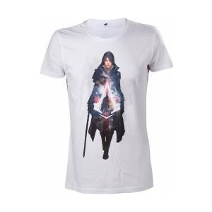 Bioworld Europe Tricou Assassins Creed Syndicate Evie Frye white L