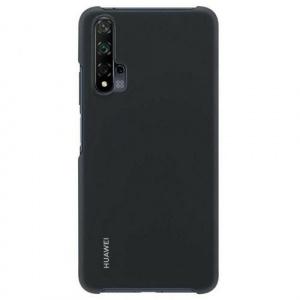 Huawei Protectie Spate 51993761 pentru Nova 5T (Negru)