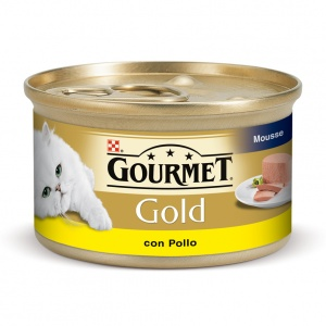 Gourmet Gold Mousse Pui 85 g Adult