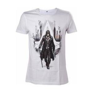 Bioworld Europe Tricou Assassins Creed Syndicate Jacob Frye white L