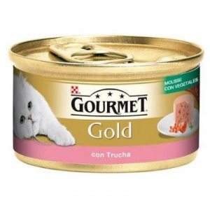 Gourmet Gold Mousse Curcan 85 g Adult