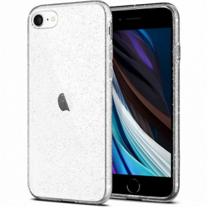 Spigen Carcasa Liquid Crystal iPhone 7/8/SE (2020) Glitter Crystal