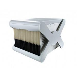 Han Suport plastic pentru 35 dosare suspendabile, cu capac, X-Cross Top - gri deschis HA-19072-11