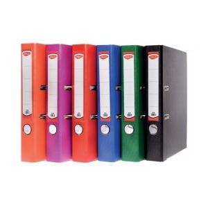 Daco Biblioraft plastifiat 50 mm culori asortate