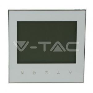V-TAC Termostat Cameră Pentru Ventilație Wi-Fi 2 Canale