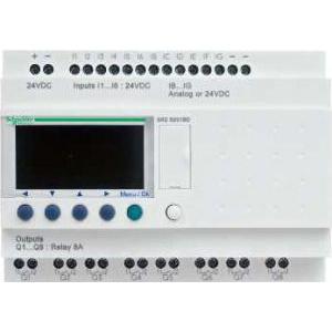 Schneider Electric Releu intel. comp. zelio logic -20 i o -24 v c.a. -cu ceas -cu afișaj - Relee inteligente programabile - zelio logic - Zelio logic - SR2B201B -