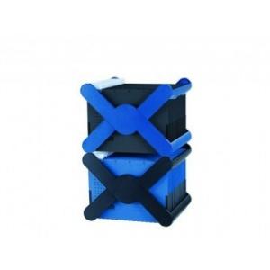 Han Suport plastic pentru 35 dosare suspendabile, X-Cross - albastru HA-19071-14