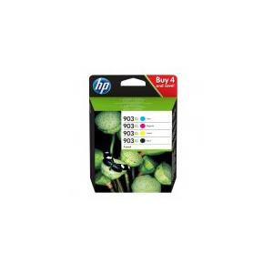 HP 903XL 4-pack High Yield Black/Cyan/Magenta/Yellow Original Ink Cartridges 3HZ51AE
