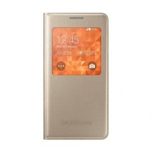 Samsung Book Gold pentru G850 Galaxy S5 Alpha (CG850BFEGWW)
