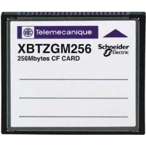 Schneider Electric Card de memorie compact flash de 256 mb - pentru panou avansat si incorporat - Terminale programabile magelis - Magelis xbt - XBTZGM256 -
