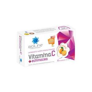 BIO SUN LINE Vitamina c + echinacea 30cpr