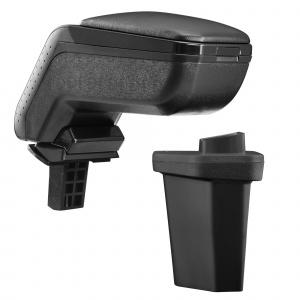Protec Cotiera auto Hyundai I20 / (GB)- imitatie piele - negru, design1