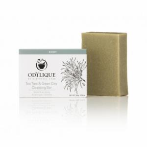 Essential Care Sapun antibacterian Odylique cu tea tree si argila verde, 100 g