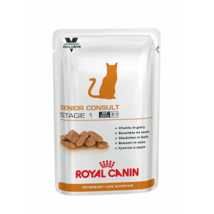 Royal Canin Senior Consult Stage 1 Wet - plic 12 x 100 g