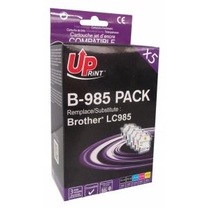 UPrint Set BJ985UPP5, 2BK+C+M+Y, 2x15+3x12 ml