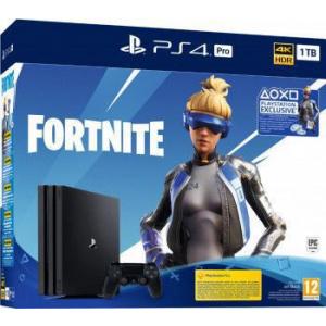 Sony PlayStation 4 PRO 1TB 4K HDR Fortnite Neo Versa Bundle Negru