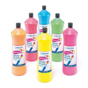 BakerRoss Set guase 6 culori fluorescente