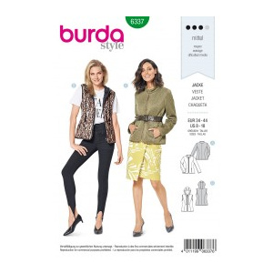 Burda Style Tipar Burda combinatii femei 6337
