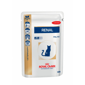 Royal Canin Feline Renal with Beef Wet - plic 12 x 85 g