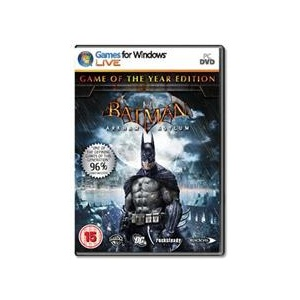 Square Enix Batman Arkham Asylum Game Of The Year Pc