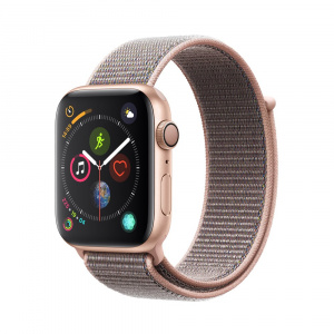 Apple Watch 4 GPS Gold Aluminium / Pink Sand Sport Loop